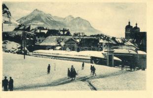 Briancon, Porte Pignerolle, Mont Melezin / in winter