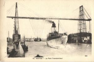 Nantes, Le Pont Transbordeur / The Transporter Bridge, SS Romania