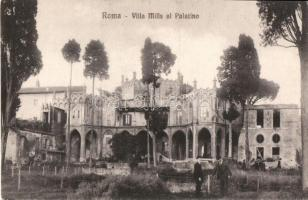 Rome, Roma; Villa Mills al Palatino