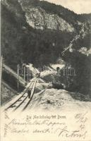Bolzano, Bozen (Tyrol); Mendelbahn / train (EK)