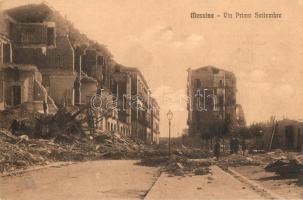 1908 Messina, dopo il terremoto, Via Primo Settembre / earthquake