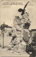Milano, Milan; Cimitero Monumentale, Monumento Poggi / cemetery, monument (EK)