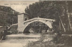 Subiaco, Ponte Medioevale di S. Francesco / bridge