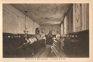 Frattocchie, Abbazia di N. S. delle Catacombe, Oratorio ed il Coro / abbey interior