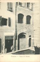 Firenze, Florence; Casa di Dante / Dante house