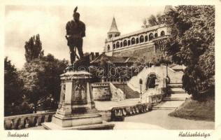 Budapest I. Halászbástya, Hunyadi János szobor
