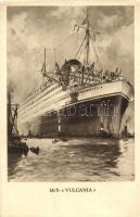MS Saturnia-Vulcania, személyszállító hajó, MS Saturnia-Vulcania, passanger ship of the Cosulich Line