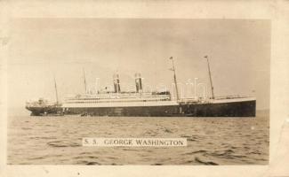 SS George Washington gőzös, SS George Washington steamship