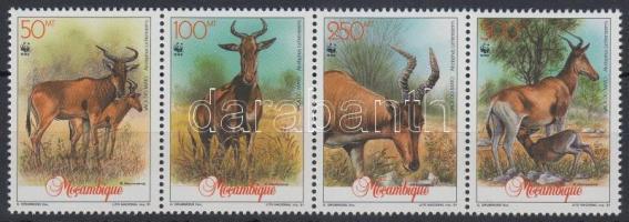 1991 WWF antilopok négyescsík Mi 1231-1234