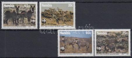 1991 WWF: Hegyi zebra sor Mi 702-705
