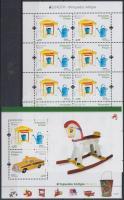 Europa CEPT, Historical Games mini sheet + block, Europa CEPT, Történelmi játékok kisív + blokk
