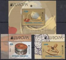 2015 Europa CEPT, Történelmi játékok ívsarki sor Mi 729-730 + blokk 28