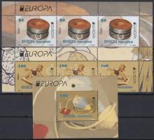 2015 Europa CEPT, Történelmi játékok sor ívsarki 3-as csíkokban Mi 729-730 + blokk 28