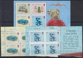 2015 Europa CEPT, Történelmi játékok sor 2 értéke ívsarki 4-es tömbökben Mi 1516-1517 + blokk 73