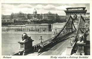 Budapest, Lánchíd pesti hídfő, Királyi várpalota