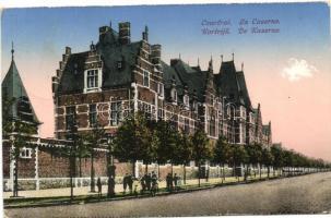 Kortrijk, Courtrai; La Caserne / barracks (worn edges)