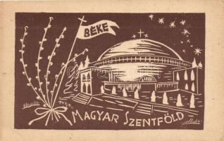 Budapest II. Hűvösvölgy, Magyar Szentföld Templom, Béke zászló