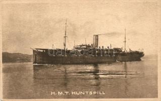 H.M.T. Huntspill / British Hired Military Transport ship, WWI, H.M.T. Huntspill, Első világháborús brit bérelt katonai szállítóhajó