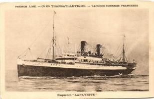 Lafayette, Paquebot de Compagnie Générale Transatlantique / French Trasnatlantic liner ship (EK)
