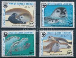 1986 WWF: Fóka sor Mi 871-874