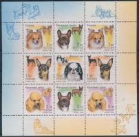 2000 Kutyák kisív Mi 837-841