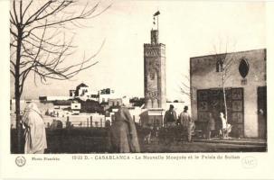 Casablanca, Nouvelle Mosquee, Palais du Sultan / mosque, palace