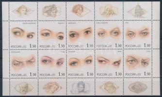 2002 Érzések emberek szemében kisív Mi 1024-1033