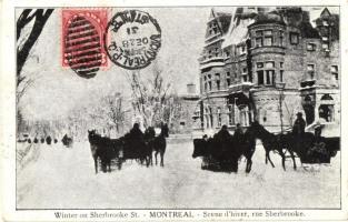 Montreal, Winter on Scherbrooke Street (EK)
