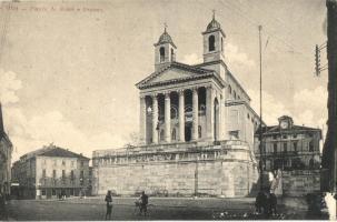 Schio, Piazza A. Rossi, Duomo / square, dom