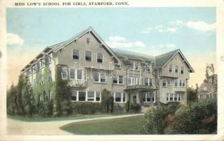 Stamford, Miss Low's School for girls