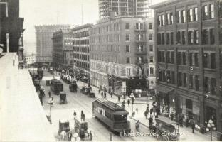 Seattle, Third Avenue, trams