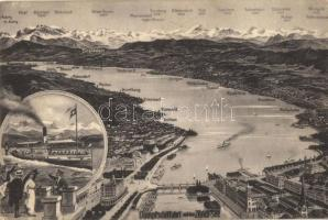 Zürich-See, SS Helvetia, map (fa)