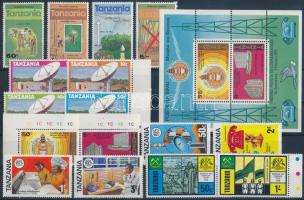 1976-1979 5 sets and 2 blocks, 1976-1979 5 sor és 2 blokk 2 stecklapon
