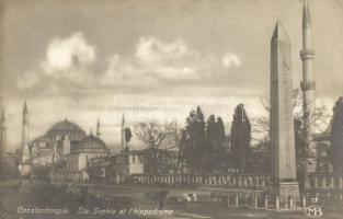 Constantinople, Ste Sophie, Hippodrome