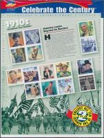 1998 USA a 20. században (II) blokk Mi 41 eredeti bontatlan csomagolásban