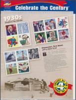 1998 USA a 20. században (IV) blokk Mi 45 eredeti bontatlan csomagolásban