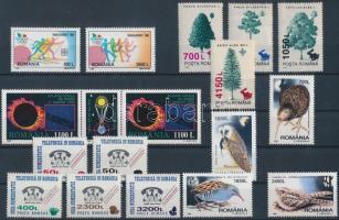 1998-1999 4 sets + 1 stamp pair, 1998-1999 4 klf sor és 1 bélyegpár