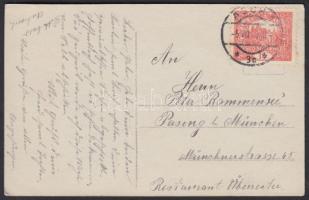 1919 Képeslap Németországba