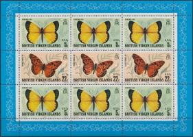 1978 Pillangó kisív Mi 344-345