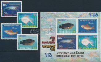 Fishes set + block, Hal sor + blokk
