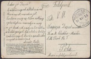 1917 Polába Tboot 76 címre küldött képeslap