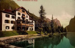 Toblacher See, Hotel