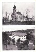 Máriabesnyő, Isteni Üdvözítő Nővérek zárdája, templom; Kalántai photo, Storcz B. Mátyás dohánynagyárus kiadása