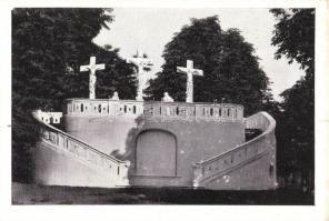Gödöllő, Kálvária; Kalántai photo, Storcz B. Mátyás dohánynagyárus kiadása
