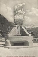 Bolzano, Bozen (Tyrol); König Laurins-Brunnen, Rosengarten / fountain