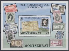 1990 150 éves a bélyeg blokk Mi 57