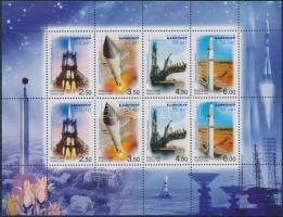 2004 Űrkutatás kisív Mi 1220-1223