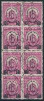 1931 Kisegítő 502 A nyolcastömb (12.000)