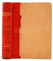 Mátyás király. Emlékkönyv születésének ötszázéves évfordulójára. Szerk.: Lukinich Imre. II. köt. Bp., 1943, Franklin. Jó állapotú, kiadói félbőrkötésben,