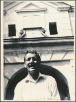 Ferenczes István (1945-) magyar költő, író, újságíró fotója, 24x18cm